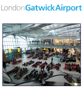 how to get to gatwick airport by car